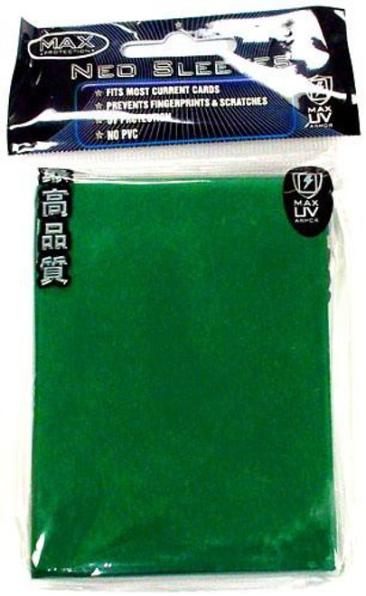 Card Supplies Neo Sleeves Flat Green Standard Card Sleeves [50 Count]