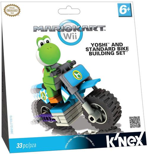 K'NEX Super Mario Mario Kart Wii Yoshi & Standard Bike Set #38012