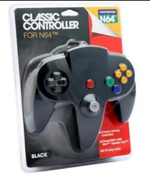 Nintendo Classic Controller for N64 [Black]