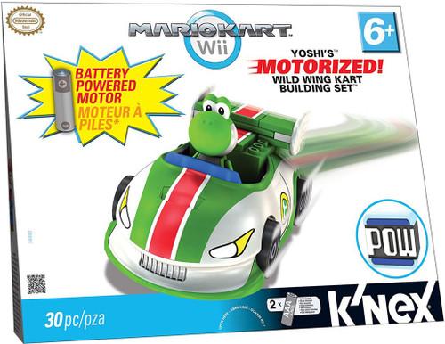 K'NEX Super Mario Mario Kart Wii Yoshi's Wild Wing Kart Set #38062 [Motorized]