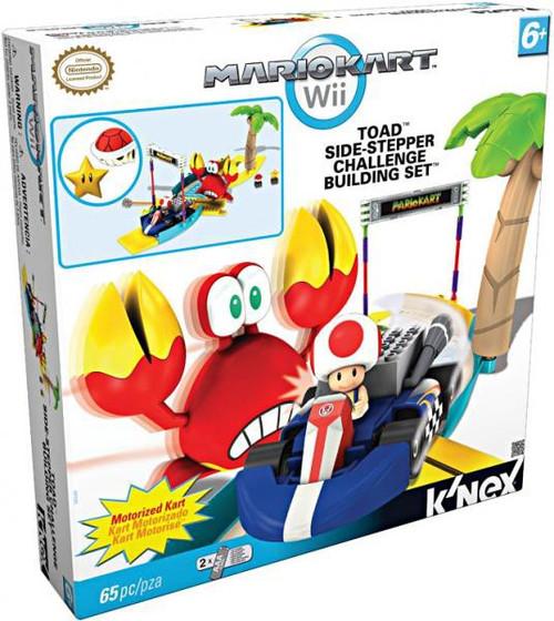 K'NEX Super Mario Mario Kart Wii Toad Side-Stepper Challenge Set #38349