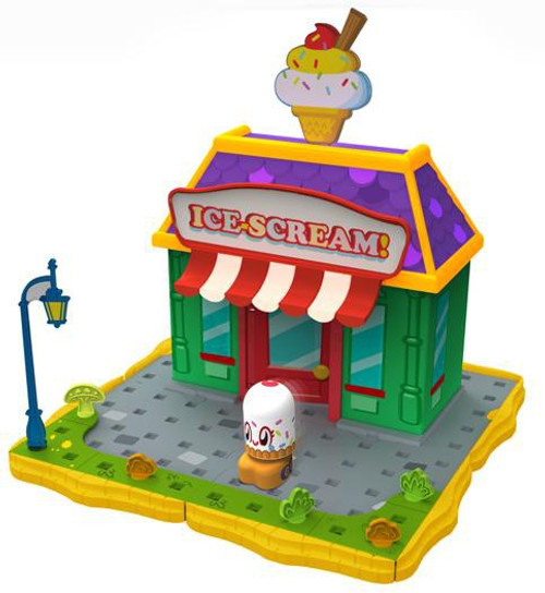 Moshi Monsters Bobble Bots Ice Scream! with Cutie Pie Playset [500 Rox]