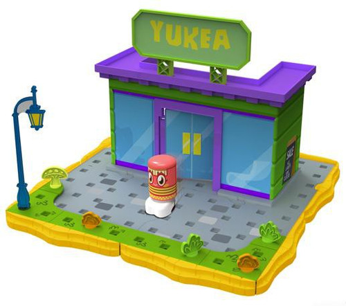 Moshi Monsters Bobble Bots Yukea with Plinky Playset [500 Rox]