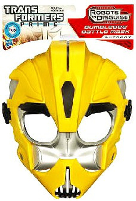 Transformers Prime Robots in Disguise Bumblebee Battle Mask Roleplay Toy