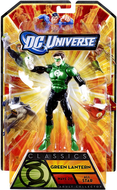 DC Universe All-Stars Classics Green Lantern Action Figure [No Build A Figure Piece]