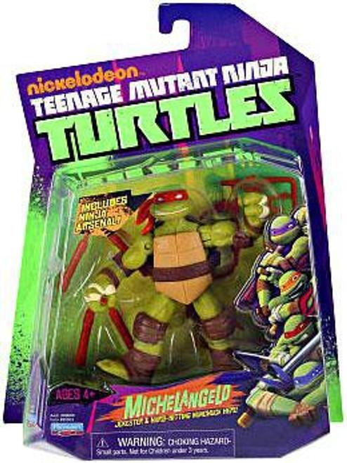 Teenage Mutant Ninja Turtles Nickelodeon Michelangelo Action Figure