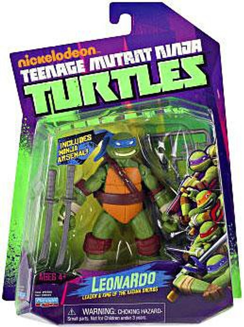 Teenage Mutant Ninja Turtles Nickelodeon Leonardo Action Figure