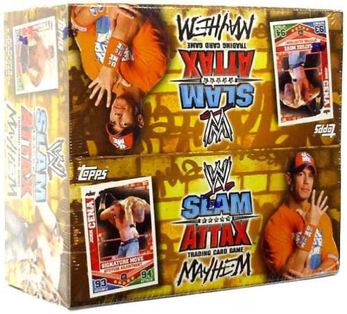 WWE Wrestling Topps Slam Attax Mayhem Series 2 Booster Box