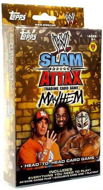 WWE Wrestling Topps Slam Attax Mayhem Series 2 Exclusive Starter Deck