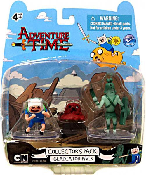 Adventure Time Collector's Pack Gladiator Pack 2-Inch Mini Figure 2-Pack