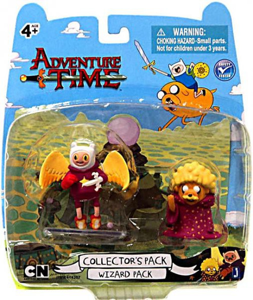 Adventure Time Collector's Pack Wizard Pack 2-Inch Mini Figure 2-Pack