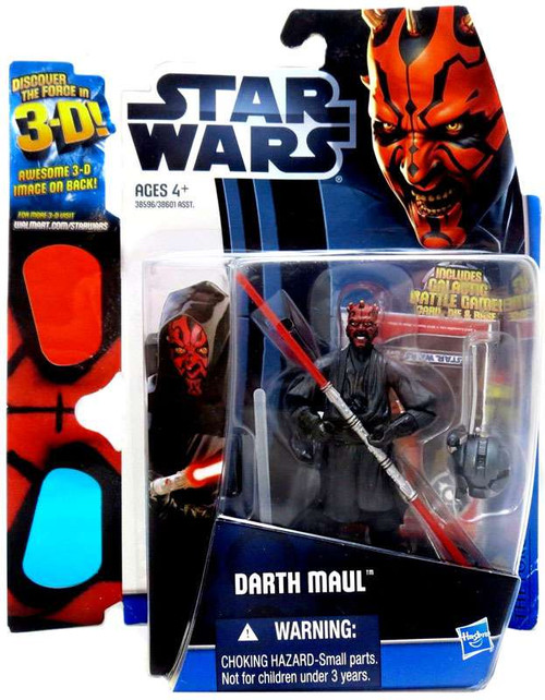Star Wars Phantom Menace Discover the Force 2012 Darth Maul Exclusive Action Figure