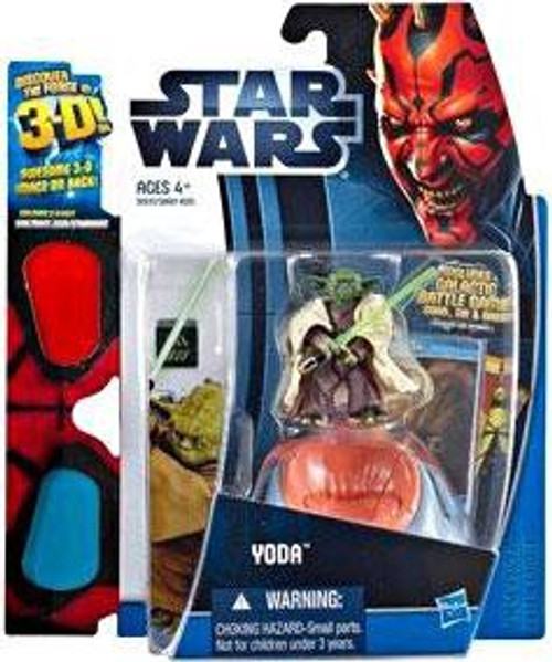 Star Wars Phantom Menace Discover the Force 2012 Yoda Exclusive Action Figure