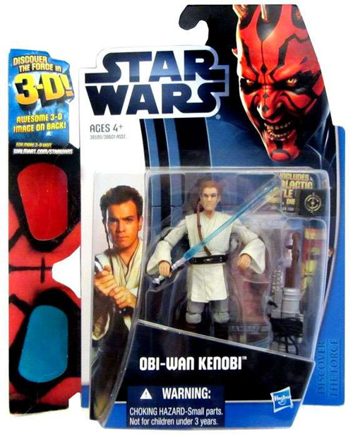 Star Wars Phantom Menace Discover the Force 2012 Obi-Wan Kenobi Exclusive Action Figure