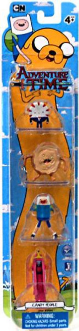Adventure Time Candy People 2-Inch Mini Figure 4-Pack