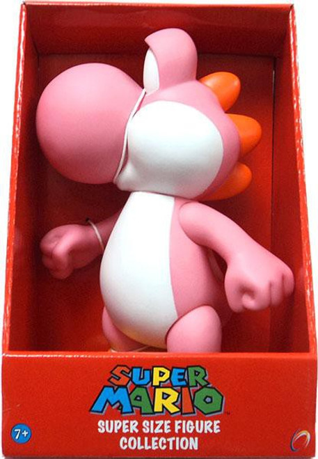 Super Mario Series 2 Yoshi 9-Inch Vinyl Figure [Pink]