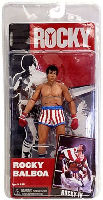 NECA Rocky IV Series 2 Rocky Balboa Action Figure [Pre-Fight]