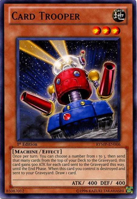 YuGiOh GX Trading Card Game Ra Yellow Mega Pack Common Card Trooper RYMP-EN006