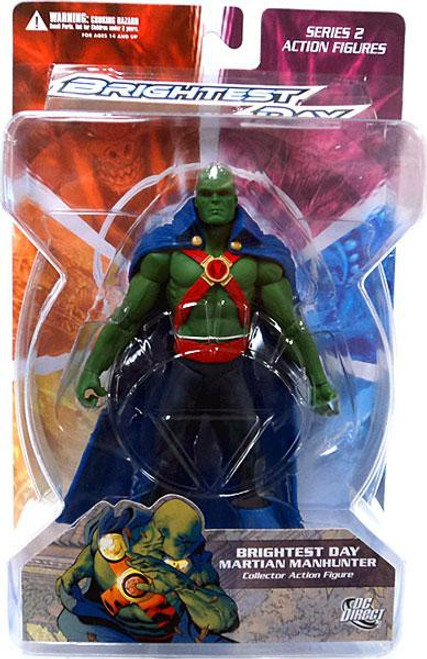 DC Green Lantern Brightest Day Series 2 Brightest Day Martian Manhunter Action Figure