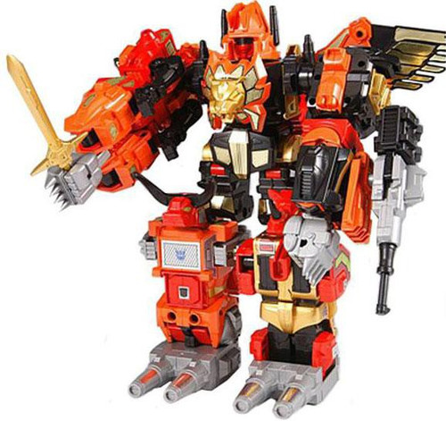 Transformers Japanese Re-Issues Predaking Action Figure Set [2010]