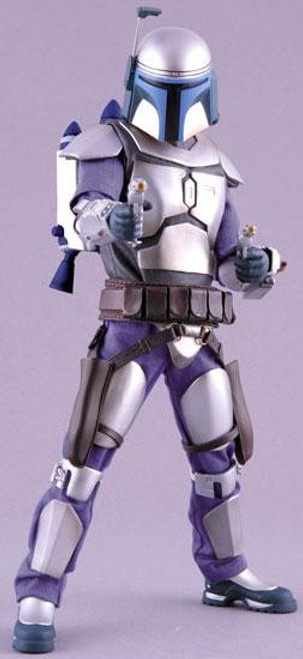 Star Wars Attack of the Clones Real Action Heroes Jango Fett Action Figure [With Jetpack]
