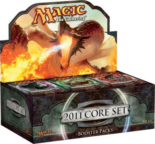 MtG Trading Card Game 2011 Core Set Booster Box [36 Packs]