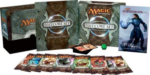 MtG Trading Card Game 2011 Core Set Fat Pack