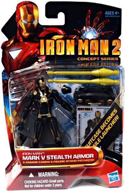 Iron Man 2 Concept Series Mark V Stealth Armor Iron Man Action Figure #20