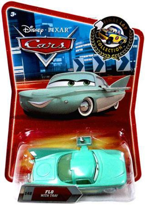 Disney / Pixar Cars Final Lap Collection Flo With Tray Exclusive Diecast Car