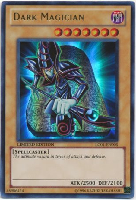 YuGiOh Legendary Collection 1 Ultra Rare Dark Magician LC01-EN005