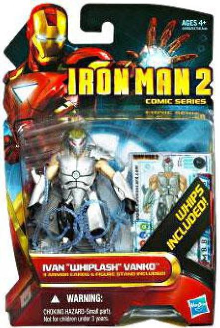 """Iron Man 2 Comic Series Ivan """"Whiplash"""" Vanko Action Figure #37"""