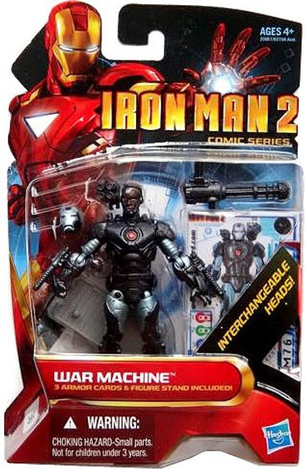 Iron Man 2 Comic Series War Machine Action Figure #38 [Cyborg]