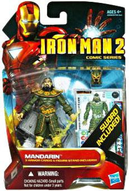 Iron Man 2 Comic Series Mandarin Action Figure #39
