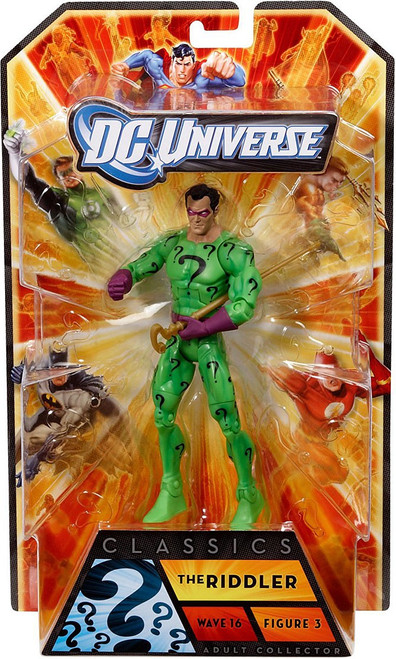 DC Universe Classics Wave 16 The Riddler Action Figure #3