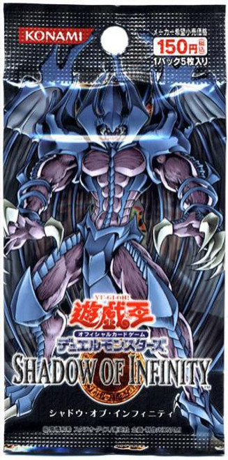 YuGiOh Trading Card Game Shadow of Infinity Booster Pack [Japanese]