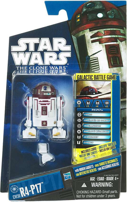 Star Wars The Clone Wars 2010 R4-P17 Action Figure CW30