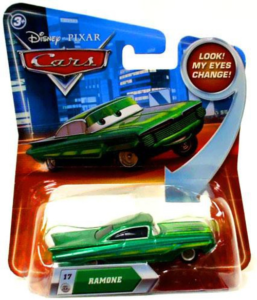 Disney / Pixar Cars Lenticular Eyes Series 2 Ramone Diecast Car [Green]