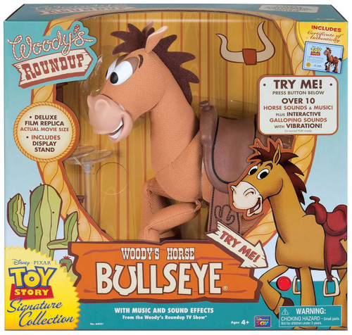 Toy Story Woody's Roundup Signature Collection Bullseye Exclusive 16-Inch Plush [Music & Sound Effects]