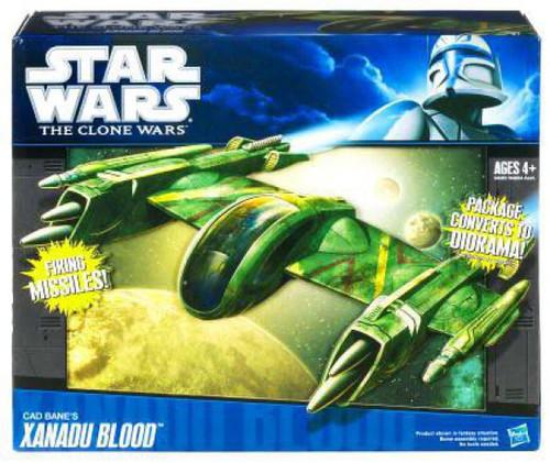 Star Wars The Clone Wars 2010 Cad Bane's Xanadu Blood 3.75-Inch Vehicle