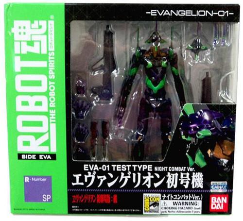 Neon Genesis Evangelion Robot Spirits EVA-01 Test Type Exclusive Action Figure [Night Combat]