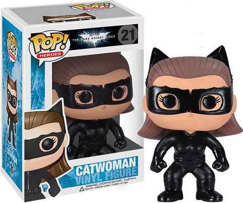 Funko Batman POP! Heroes Catwoman Vinyl Figure #21 [The Dark Knight Rises]