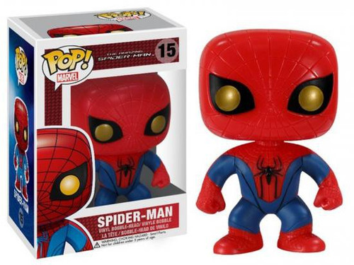Funko The Amazing Spider-Man POP! Marvel Spider-Man Vinyl Bobble Head #15 [The Amazing Spider-Man]