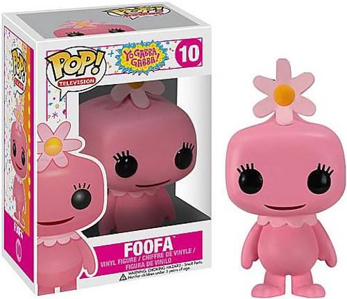 Funko Yo Gabba Gabba POP! TV Foofa Vinyl Figure #10
