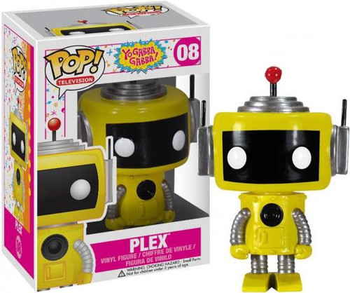 Funko Yo Gabba Gabba POP! TV Plex Vinyl Figure #08