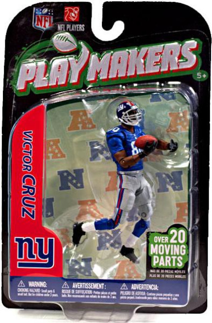 McFarlane Toys NFL New York Giants Playmakers Series 3 Victor Cruz Action Figure