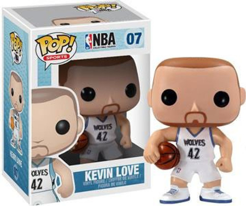 Funko NBA Minnesota Timberwolves POP! Basketball Kevin Love Vinyl Figure #07