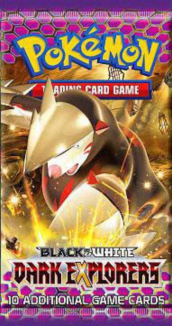 Pokemon Trading Card Game Black & White Dark Explorers Booster Pack [10 Cards]