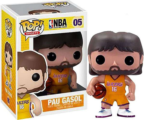 Funko NBA POP! Sports Basketball Pau Gasol Vinyl Figure #05