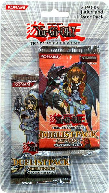 YuGiOh Trading Card Game Duelist Pack Jaden Yuki 2 & Aster Phoenix BLISTER 2-Pack [2 Booster Packs]