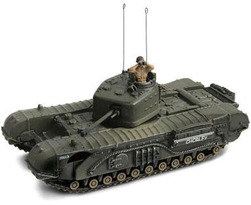 Forces of Valor 1:72 D-Day Commemorative Series U.K. Infantry Tank MK. IV Churchill Mk. VII [Normandy]